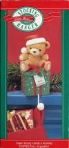 New in Box - Hallmark Christmas Stocking Hanger - Little Bear - XSH6423 - $8.90