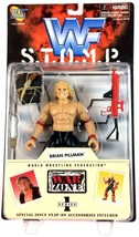 Brian Pillman WWF WWE Jakks Action Figure STOMP Series 1 1997 Attitude Era - $24.70