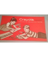 Binney and Smith Crayola Crayons Creative Drawing Book 50's? - $9.75
