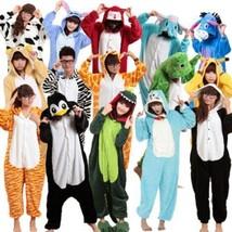 Hot Sale Unisex Adult Pajamas Kigurumi Cosplay Costume Animal Onesie Sle... - $27.99