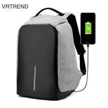 VRTREND USB Charge Anti Theft Backpack Men Travel Security Waterproof Sc... - $47.28