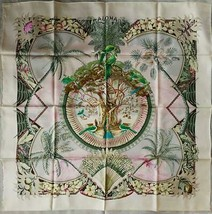 Hermes Scarf Stole Aloha by Laurence Bourthoumieux Hawaii Silk Auth New ... - $420.44
