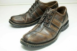 Clarks 11 Brown Bicycle Toe Lace Up Shoe Men's - $46.00