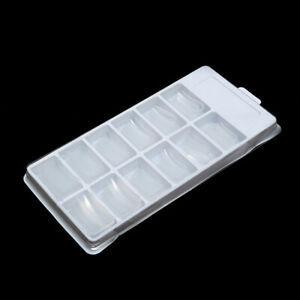 120PCs False Nail Mold Full Cover Clear Dual Forms Nail System UV Gel Nail Tips