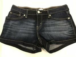 Levi's Strauss Oscuro Lavado Denim Shorts, Mujer Talla 29W - $19.85