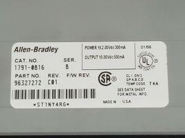 ALLEN BRADLEY 1791-0B16 I/O BLOCK 17910B16 SER. B REV. C01, 24VDC, P/N: 96327272 image 4