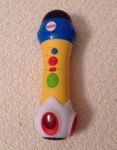Fisher Price Music Rappin' Recording Microphone - KFP1739, Excellent Shape - $11.88