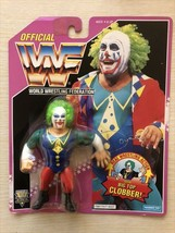 WWF WWE Hasbro Wrestling Figure Doink The Crown Vintage - $142.99