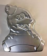 Vintage Sesame Street Big Bird with Banner Cake Pan Mold Jim Henson 2105-3654 - $14.95