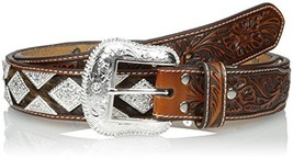 Nocona Men's Pro Metal Shield Bling, Tan, 40 - $87.14