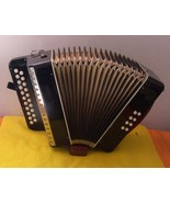TWO ROW DIATONIC  GERMAN BUTTON ACCORDION WITH ... - $650.00
