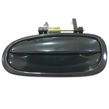 Rear Left Outer Door Handle For Honda Civic 1996 - 2000 Black - $32.41