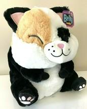 """XLarge 13"""" Belly Buddy Plush Toy Fat Cat Stuffed Animal by Nanco.NWT. Su... - $19.59"""