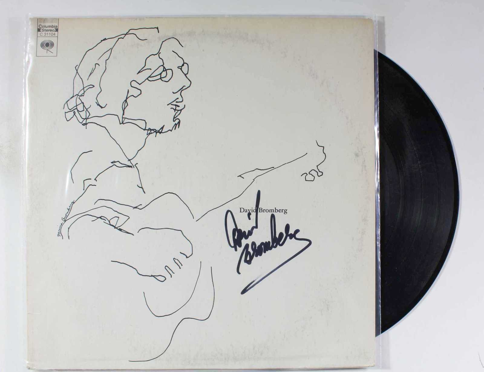 Primary image for David Bromberg Signed Autographed Record Album