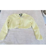 The Children's Place Yellow Bolaro Style Sweater - $4.99