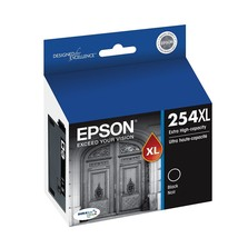 Epson DURABrite Ultra 254XL Black (T254XL120-S), Extra High Yield - BB: 03/2020 - $56.06