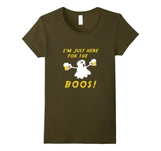 I'm Just Here For The Boos T-Shirt Funny Halloween Gift Women - $19.95+