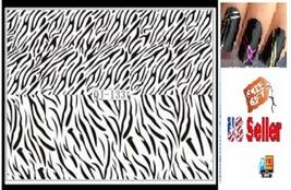 C5:Nail Art Manicure Tips Sticker w/Free 2PCS Rolls Striping Tape Line Nail Tips - $2.97