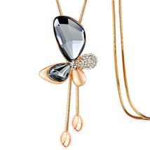 Austrian Opal Choker clothes Necklaces 925 Jewelry - $17.48