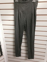 Ezradance 505 Girl's Size Large (12-14) Gray High Waisted Ankle/Leggings... - $7.99