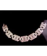 Art deco  sterling bracelet - Vintage brilliant marcasites - estate jewe... - $275.00