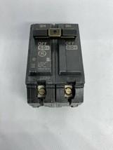 Ge General Electric 50 Amp Circuit Breaker 120/240 Vac 2 Pole THQL22050 - $17.72