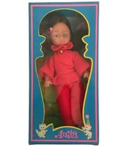 """VIntage 1970s Anita Fashion Doll Mod Groovy Made In Hong Kong 8"""" Red Dress - $21.36"""