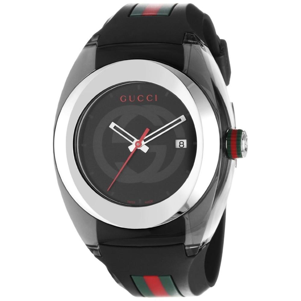 05ab3ac827b Gucci Sync XXL Black Rubber Black Dial Watch and 50 similar items. 1fff