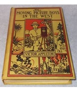 The Moving Picture Boys in the West Book Victor Appleton 1913 H.C  - $9.95