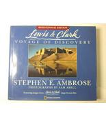 Lewis & Clark: Bicentennial Edition: Voyage... Stephen E Ambrose, Hardba... - $19.96
