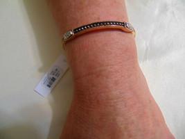 "Charter Club 6.5"" Silver /Gold/Tone 4 Accents Stretch Bracelet H613 - $7.25"