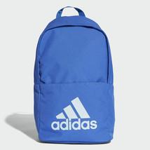 Adidas Classic Backpack Rucksack Work Travel Gym School Bag - CG0517 - Blue - $32.85