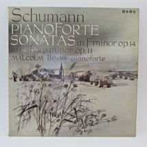 Schumann Pianoforte Sonatas Vinyl LP Record Album Malcolm Binns Saga UK ... - $22.71