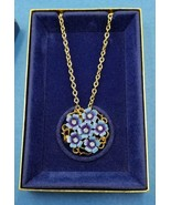 "AVON VINTAGE 1972 "" LOVE BLOSSUMS"" CONVERTIBLE NECKLACE/ PIN E806 - $11.88"