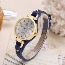 Fashion Brand Hot Womens Casual Leather quartz rose gold Watch Ladies br... - $25.60+