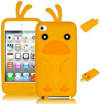 For iTouch 4, 4th Gen iPod Cute 3D Animal Yellow Duck Silicone Case / Cover - $4.95
