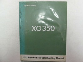 2002 HYUNDAI XG350 Electrical Wiring Troubleshooting Manual FACTORY OEM ... - $34.60