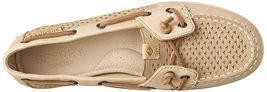 Sperry Top-Sider Women's Coil Ivy Linen Scale Emboss Boat Shoes STS80256 NIB image 5
