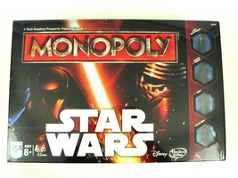 New Hasbro Disney Star Wars Version of Classic Monopoly Board Game Lucas... - $16.00