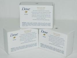 Dove 83277901 White Beauty Bar Moisturizing Soap Travel Size Set of 3 image 2