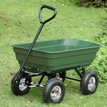 Garden Backyard Dump Truck Wagon Cart Warehouse Caddy - $99.99