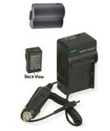 Battery + Charger For Panasonic CGR-S006 CGR-S006A CGR-S006A CGR-S006A/1B - $21.59