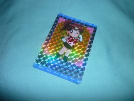 OFFICIAL JAPAN SAILOR MOON CUTE JUPITER  VINTAGE HARD PRISM CARD - $18.00