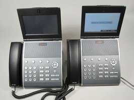 Lot of 2x Polycom VVX 1500 IP Business Media Phone For Parts or Repair - $82.45