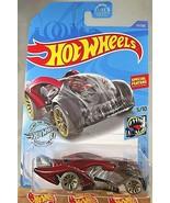 2020 Hot Wheels #117 Street Beasts 5/10 i-BELIEVE Red w/Gray Wheels Gold... - $6.50