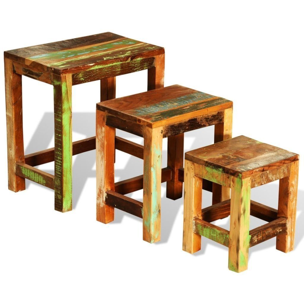S L1600. S L1600. Antique Nesting End Tables ...