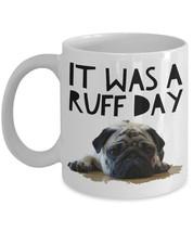 Pug Mug - Black Pug Mug - Funny Pug Coffee Mugs - Pug Cup - Pug Gift Ide... - $14.95