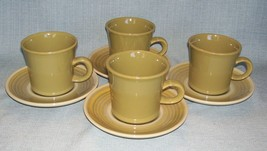 Vintage Franciscan Pebble Beach Cu Ps And Sauce Rs - Set 4 -Green Vguvc - $15.95