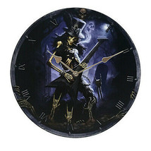 Pacific Giftware Play Dead Wall Clock by James Ryman Gothic Round Plate ... - $19.79