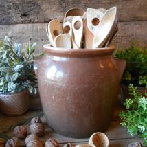 Antique Confit Pot. French Country Decor  1900's, Rustic, Stoneware Conf... - $99.00